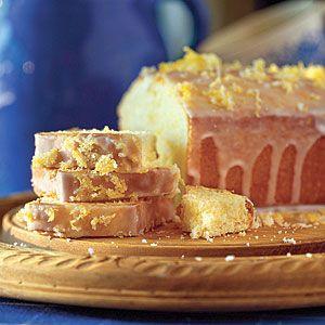 Delightful Spring Desserts   Lemon Tea Bread   SouthernLiving.com
