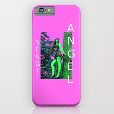 Think Pink :-) PHONE CASES/ SLIM CASE creative music art, jazz, soul, dance, rock, pop gifts, pictures by ANGELsingt - ART