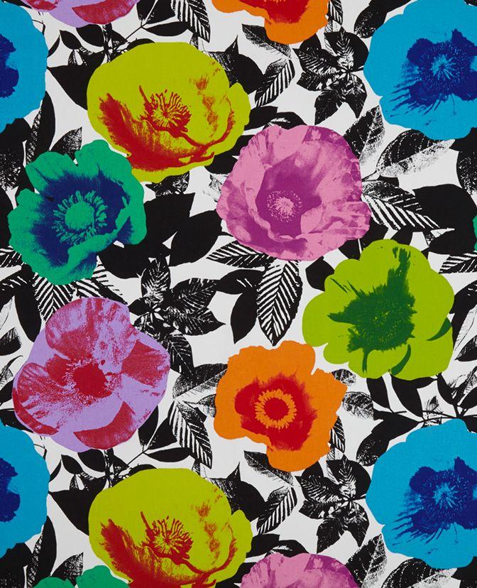 Wallpaper Roll Modern Pop Art Colorful Floral Home D 233 Cor