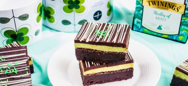 Mint Medley And Chocolate Ganache Brownie Recipe | Woman & Home SA