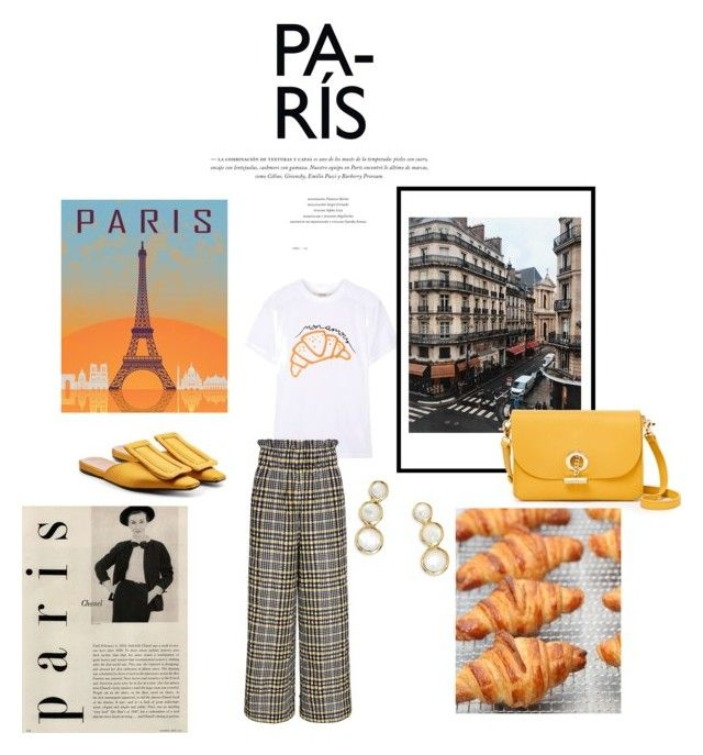"""""""paris"""" by vanessawblogg on Polyvore featuring Ganni, Marni, Ippolita and Waverly"""
