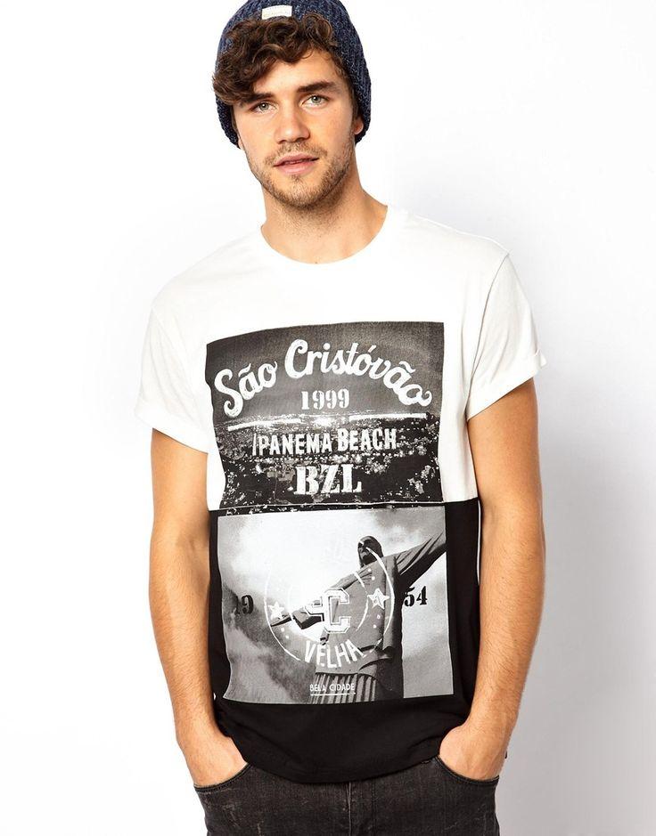 River Island Mens Ibiza T Shirt
