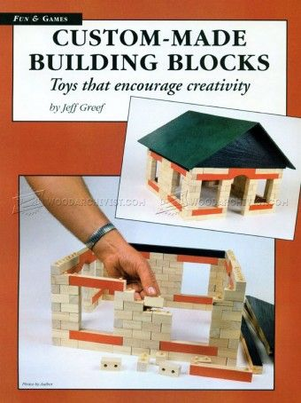 #813 Making Wooden Building Blocks - Wooden Toy Plans