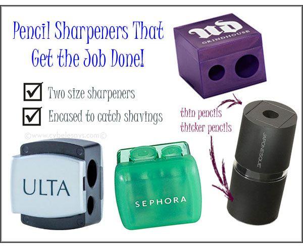 Makeup Sharpeners that Get the Job Done @ulta_beauty @Urban Decay @Shiori Ucheya @Sephora