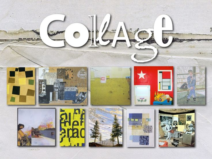 collage-an-exploration by Frank Curkovic via Slideshare