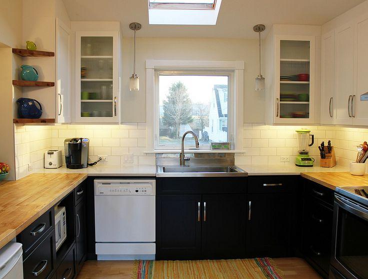 Estantes de madera mesa de trabajo para cocina and - Mesa de trabajo cocina ...