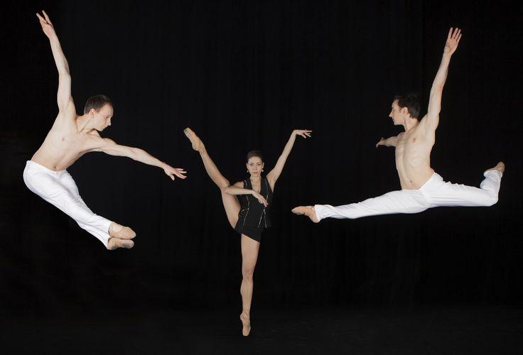 Marsha Rodriguez, Iker Murillo, Vitali Safronkine, Uniqart Dance Company. Photo with thanks from company