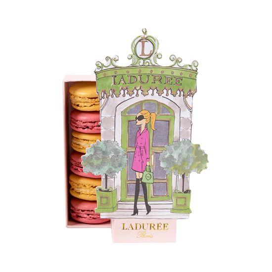 REGLETTE LA PARISIENNE Assortiment de 6 macarons