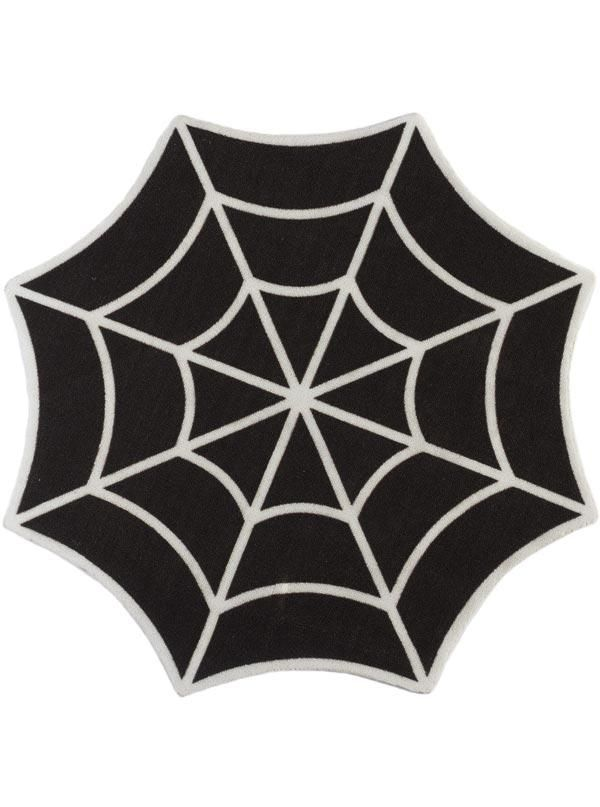 540 best want images on pinterest armchairs arredamento and baroque spiderweb rug by sourpuss black fandeluxe Gallery