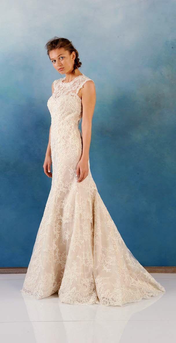 7 best Alyne Wedding Dresses images on Pinterest   Wedding frocks ...