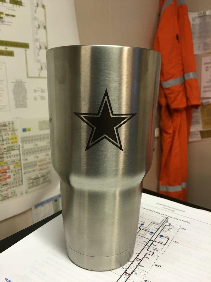 Dallas Cowboys Yeti Cup Engraved Pinterest Cowboys