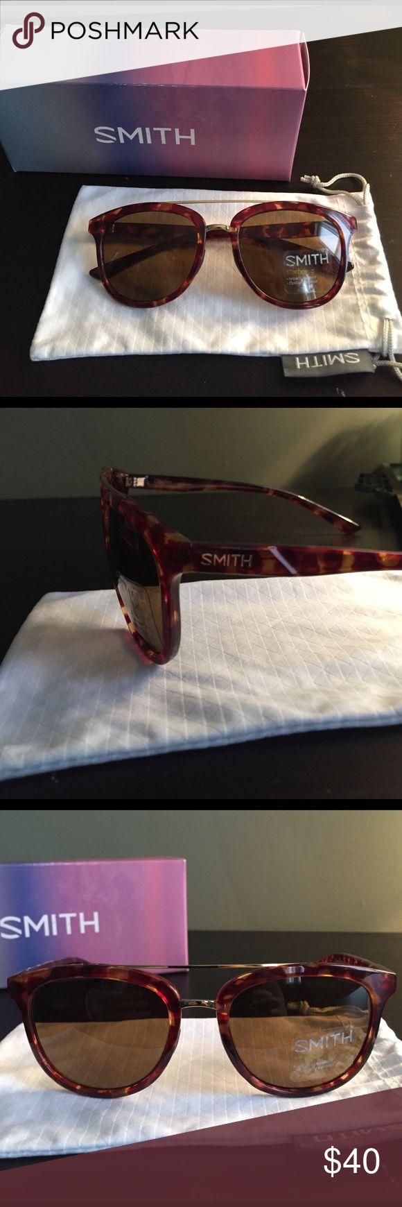 Smith Optics Clayton Sunglasses Smith Optics Clayton Tortoiseshell Sunglasses. Brand new in box. Measures 54mm/19mm/135mm. Smith Optics Accessories Sunglasses