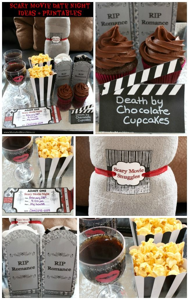 scary movie date night ideas halloween party