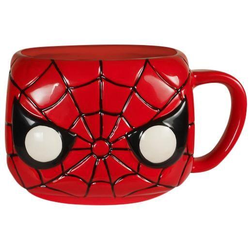 Tazza di Spiderman della collezione Pop! Home. Capienza: 350 ml circa.