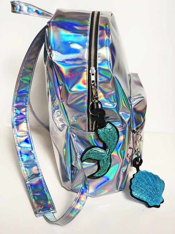 I love this backpack!! Holo mermaid! SO CUTE!!!   All About Mermaids ... 3ecf118154