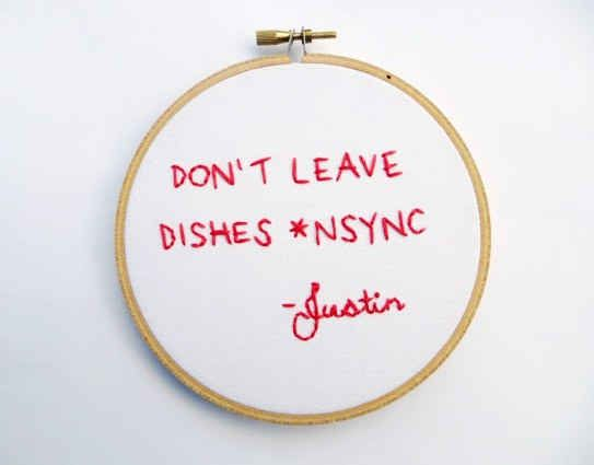 Not all cross stitch, but the ones that are, are golden...