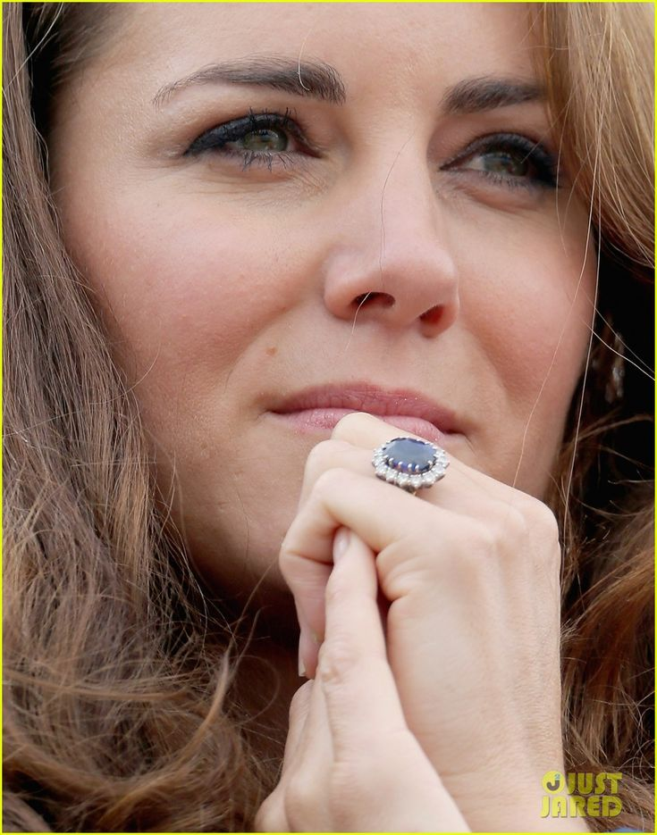 "Kate: the ""no-makeup look"" makeup queen.  This is perfection...and she had someone teach her how to do this quickly and efficiently for her wedding...hmmmmm, really good idea"