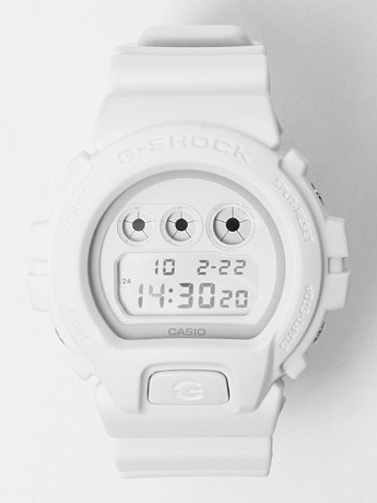 Casio G-SHOCK DW-6900WW-7 Watch in white. Oh, Lord <3