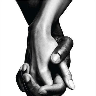 The most beautiful love of all; interracial.
