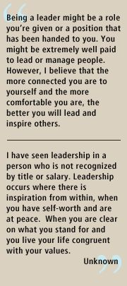 What does leadership mean to you? #CCL #Leadership #Inspiration