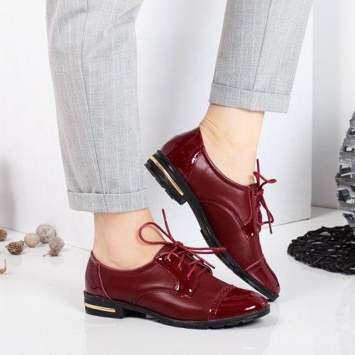 Pantofi dama Migin visinii casual