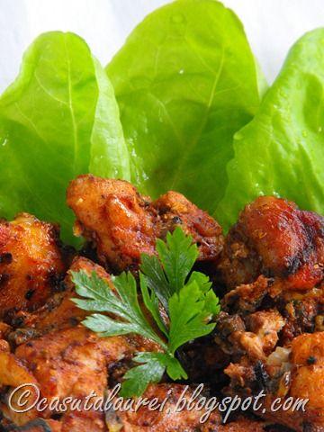 Carne marinata - tandoor style