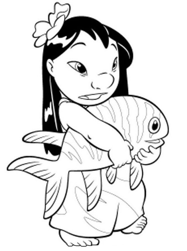 32 best lilo and stitch Coloring Pages images on Pinterest Lilo