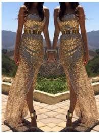 Resultado de imagen para vestidos de lentejuelas largos