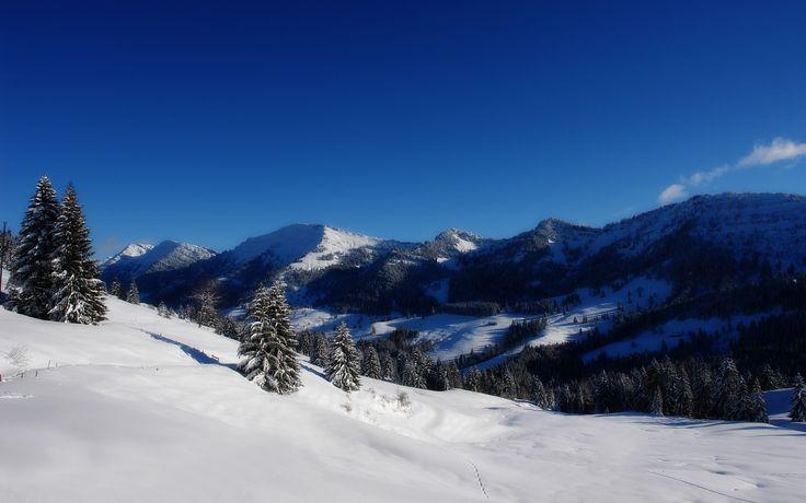 Mountain Caves - Blue Sky