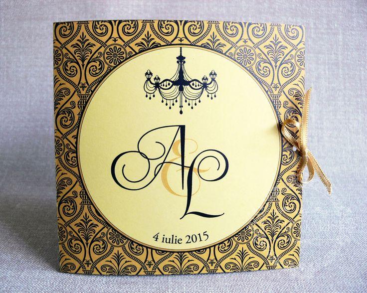 Invitatii de Nunta Colectia Stephania 01