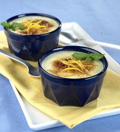 Desserts & Snacks: Orange Tapioca Crème Brûlée