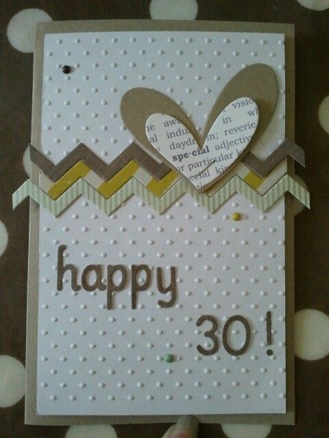 #carte anniversaire _ happy birthday - clean - scrap # card #scrapbooking