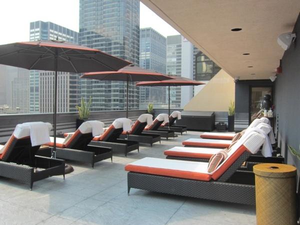 Sun Terrace at The Peninsula NY #rooftop