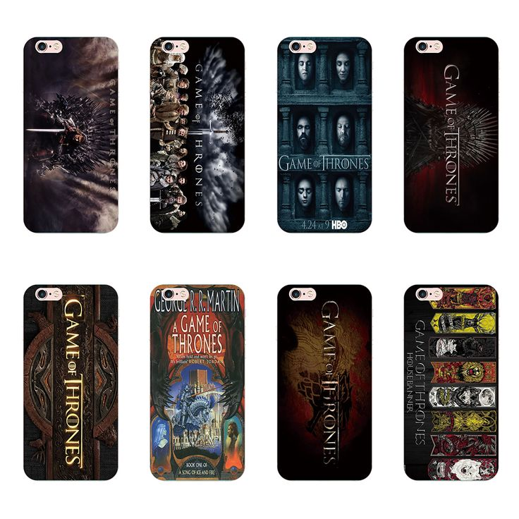 Hot TV Game of thrones Pattern cover cases For Samsung Galaxy S5 S6 S7 edge S3 S4 i9500 Apple iphone 5S 5 5C 4S 6 6S 7 Plus - Direwolf Shop Direwolf Shop