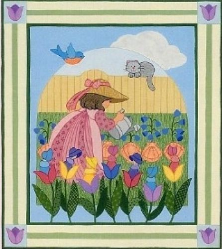 Brandywine Design Nursery Rhyme Series Mistress Mary Wall Hanging Pattern | eBay