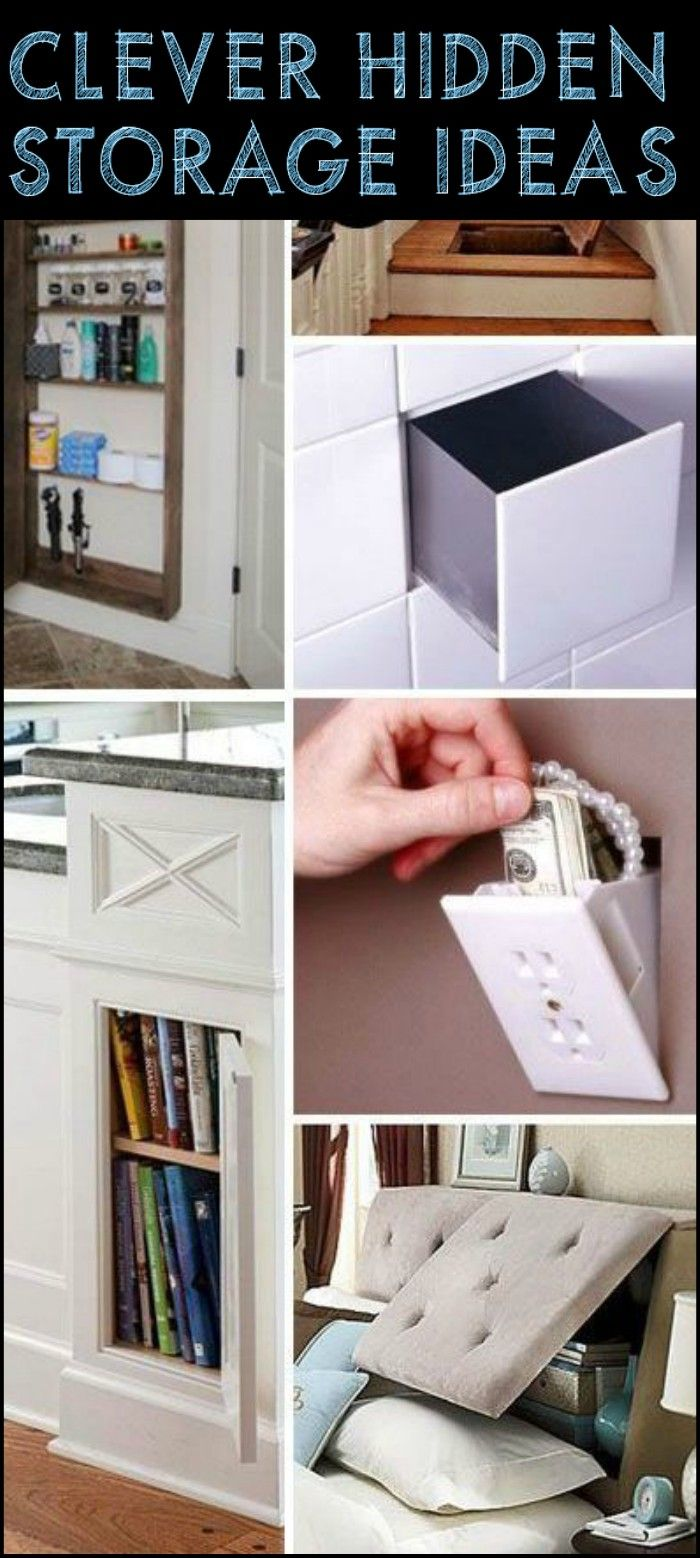 Clever Hidden Storage Solutions Youu0027ll Wish You Had At Home