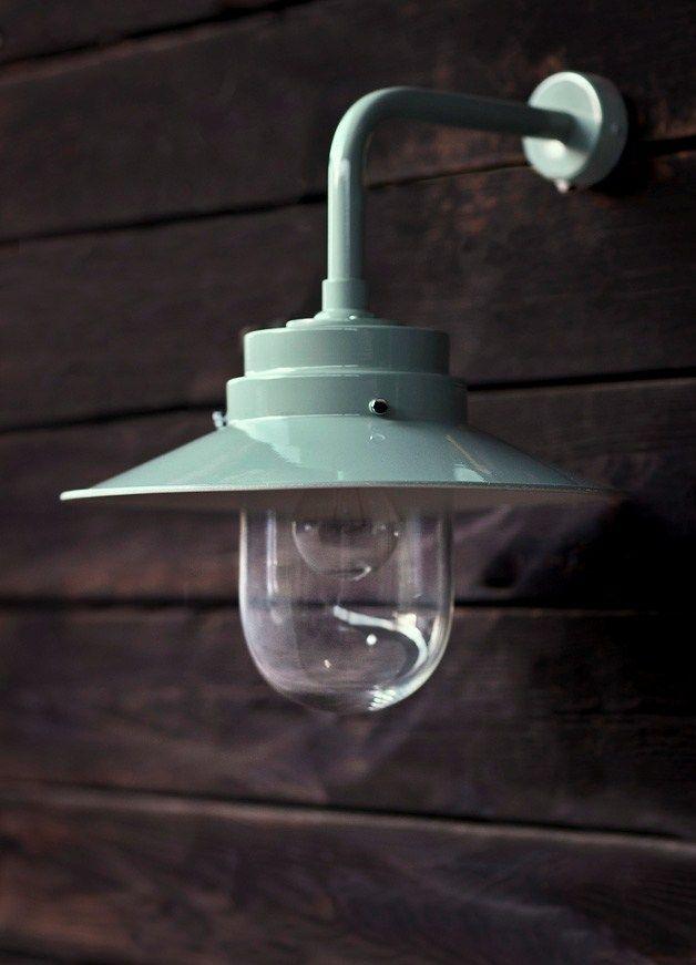 Belfast Light in Shutter Blue from Garden Trading in UK