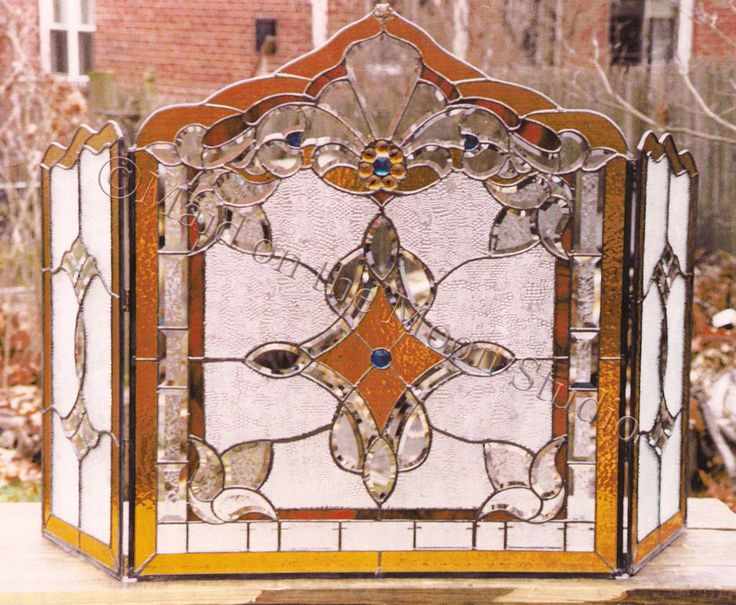 Best 25 Stained glass fireplace screen ideas on Pinterest Glass