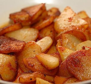 Oven baked potato wedges.This recipe for those who prefer to cook,using Flavor Wave Oven.This is really a new generation in cooking.
