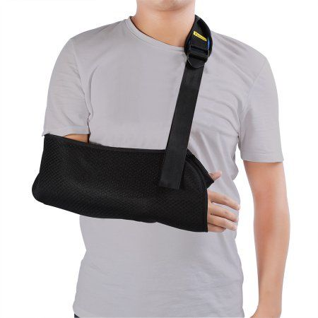 Arm Sling by Yosoo - Dislocated Shoulder Sling forBroken & Fractured Bones - Adjustable Arm, Shoulder & Rotator Cuff Support - For Subluxation, Dislocation, Sprains, Strains and Tears
