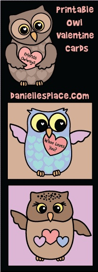 Valentine's Day Cards from Danielle's Place of Crafts and Activities @Kirsten Wehrenberg-Klee Lewis, I thought of you and L. :)