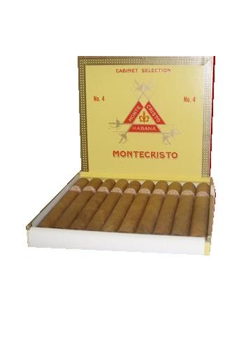 Montecristo No.4 - 10's Groomsmen presents