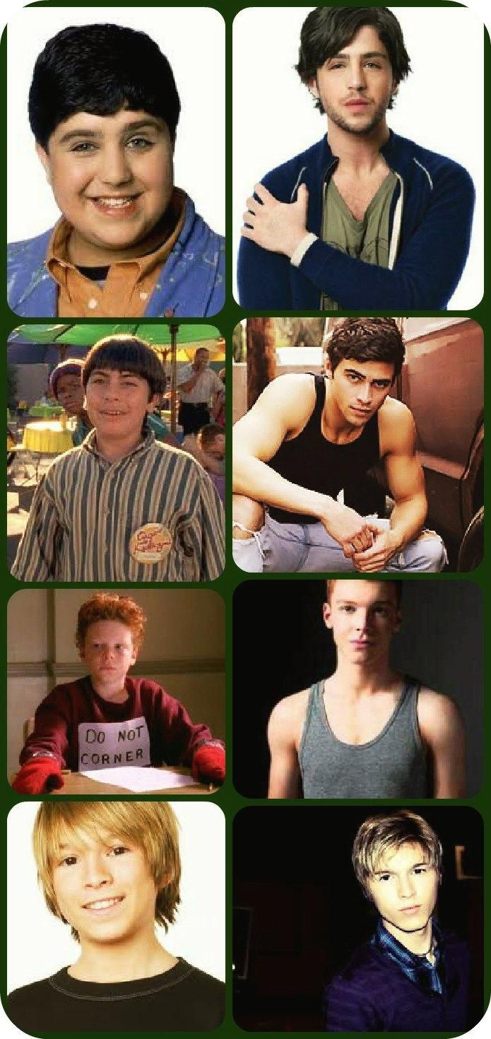 Before & After Josh Peck ,Paul Butcher, Cameron Monaghan, and Evan Matthew Cohen