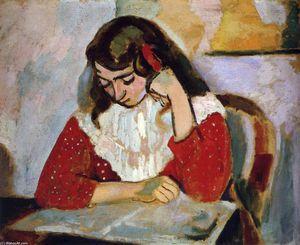 Le Reader, Marguerite Matisse - (Henri Matisse)
