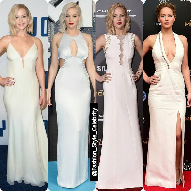 #JenniferLawrence Always Stuns in #White#thehungergames #chic #beautiful #whitedress #whitegown #socialite #heels #fashionista #scarf #sunglasses #bon #gorgeous #lob #skirt #colours #flats #highheels #wow #lace #clothing #redlips #supermodel #beauty #makeup #demimshirt... - Celebrity Fashion