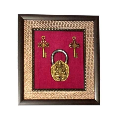Lock & Key Wall Hanging  - FOLKBRIDGE.COM | Buy Gifts. Indian Handicrafts. Home Decorations.