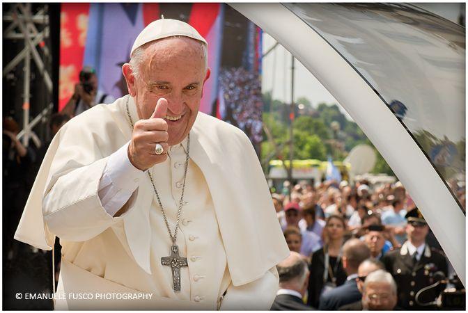 Papa Francesco a Torino 21 giugno 2015 © Emanuele Fusco Photography