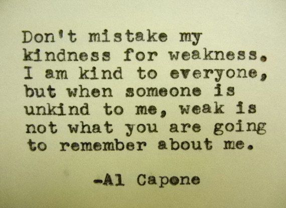 AL CAPONE Quote Typed on Typewriter by PoetryBoutique on Etsy, $9.00