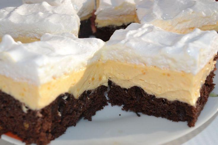 Vaníliakrémes mámor ínycsiklandó csokis piskótán – csábító sütike! - MindenegybenBlog