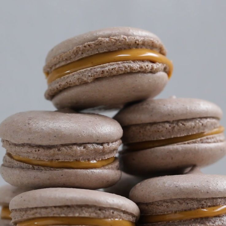 Vegan Peanut Butter Macarons